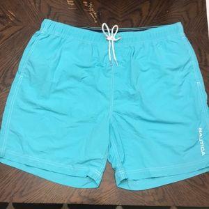 NWOT Nautica quick dry swim trunks